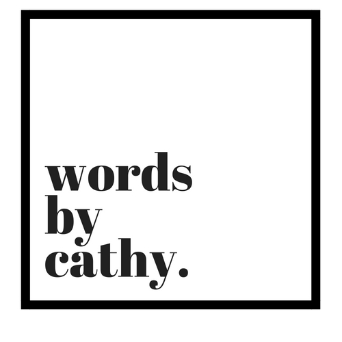 Words By Cathy